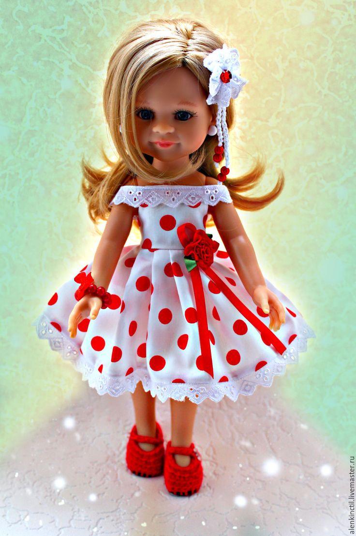 Купить Комплекты в горошек для Паолочек. - одежда для кукол, платье для куклы, паола рейна, для кукол и игрушек