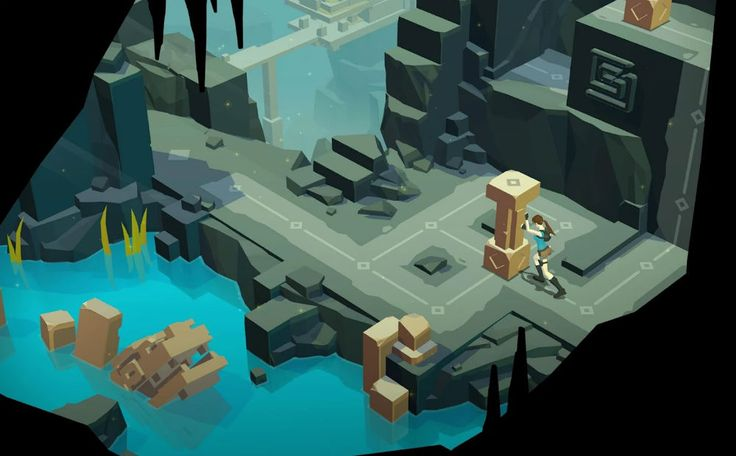Lara Croft GO is not a fast paced game, but a methodical puzzle based challenge which requires careful planning and execution. I preferred Hitman GO in the early stages because the goals were more precise and the actions of all the pieces known. Here there is more mystery... will that lever move this rock or that rock? However, the animations will engage kids more than Hitman GO.
