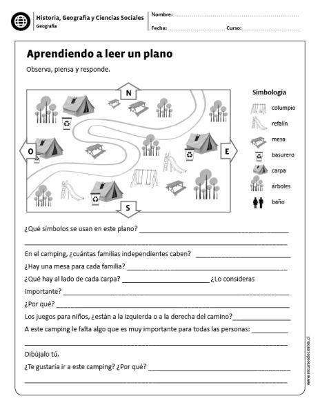 Aprendiendo a leer un plano | Ciencias Sociales