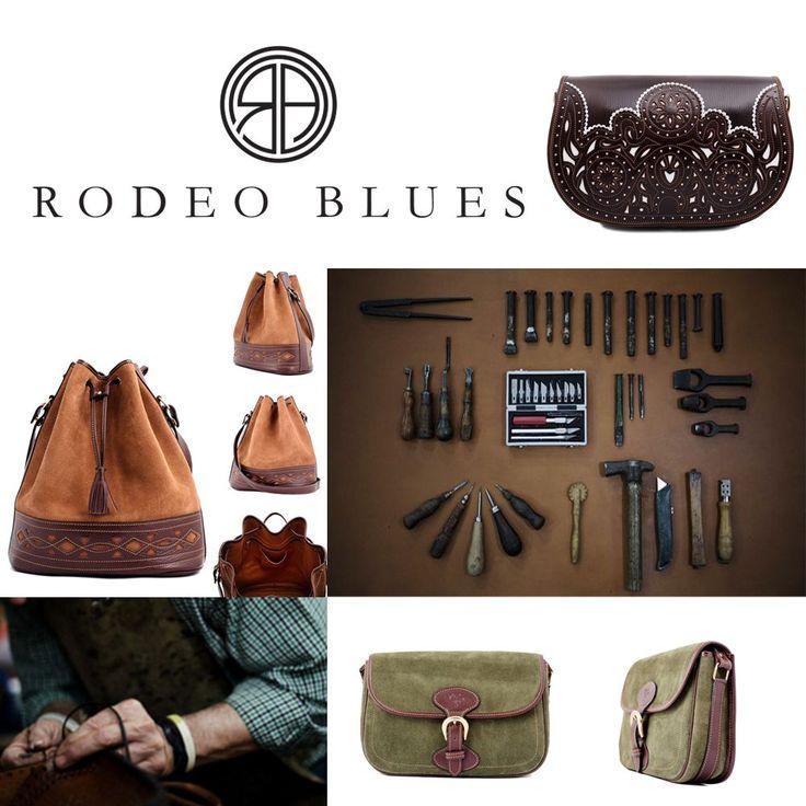"""""""Rodeo Blues nace de la pasión, dedicación y amor por un oficio tan bello como ancestral: la artesanía del cuero."""" Hoy hemos preparado un post muy especial paratodos vosotros.Os prese…"""