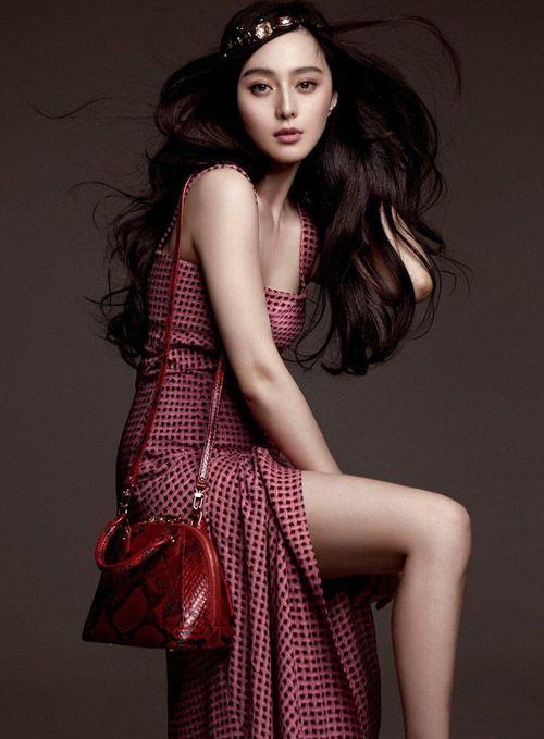Fan Bing Bing for Louis Vuitton Alma Bag - NONZEN.com