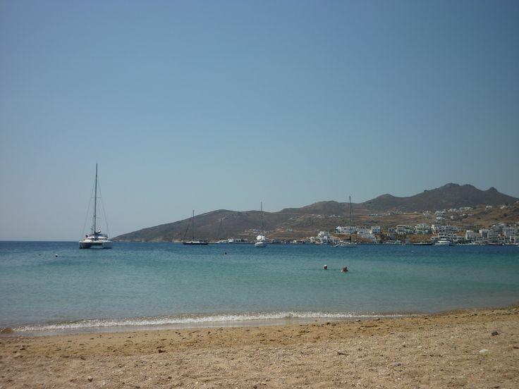 Avlomonas beach is in Serifos island.