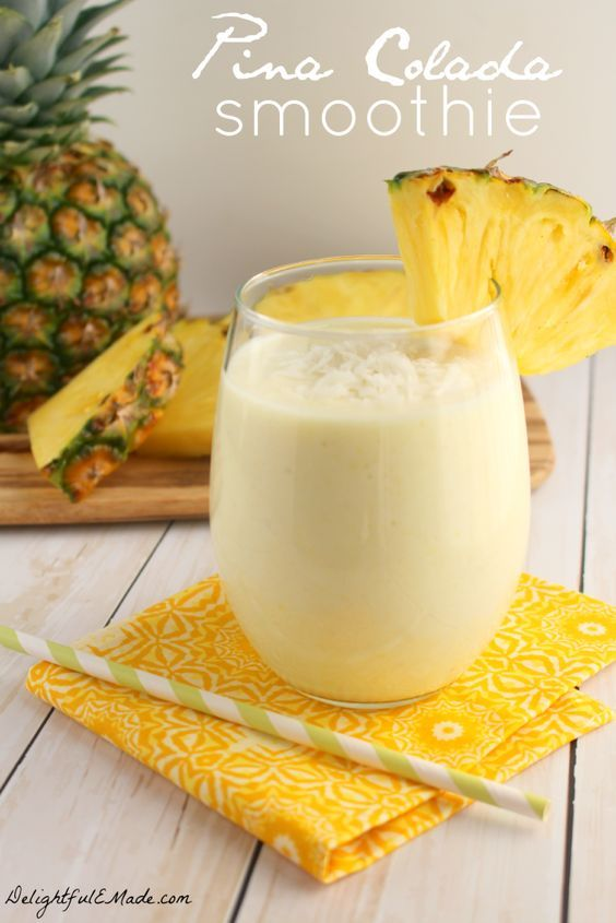 Pina Colada Smoothie by DelightfulE Made