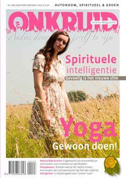 4x Onkruid magazine € 14,95: Met Onkruid ontvang je iedere twee maanden een inspirerend blad in de bus.