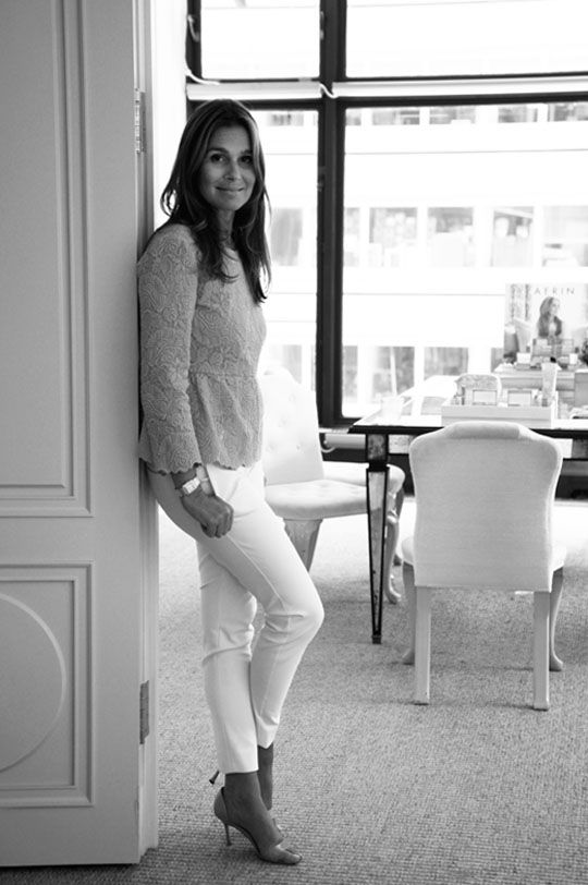 Fashionista Desk Side with Aerin Lauder: Launching a New Beauty Brand and Learning How To Tweet