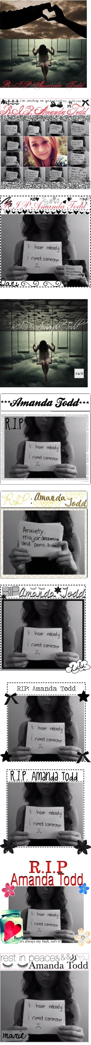 """""""R.I.P. Amanda Todd Sets"""" by pookieamg ❤ liked on Polyvore"""