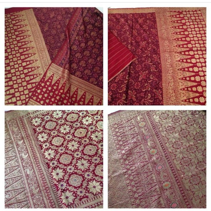 Kain Songket Palembang - Indonesian handmade weaving cloth from Palembang - South Sumatera