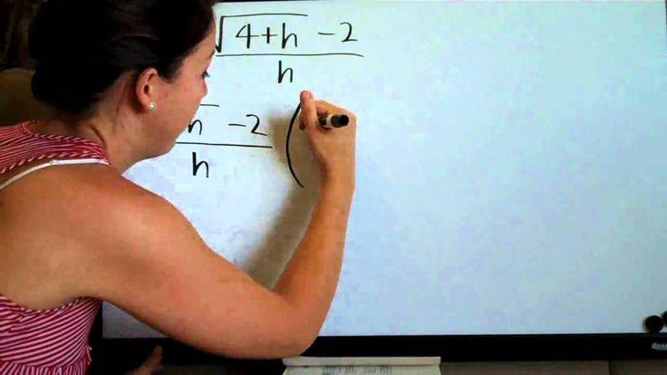 Limits - Conjugate Method