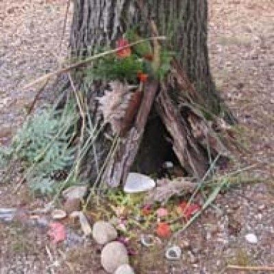 crafts fairy house   Craft Ideas/DIY / All about Fairy houses/making/photos/books/events ...