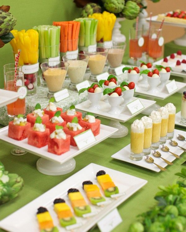 Fruit is great for summer wedding! Your guests will thank you!