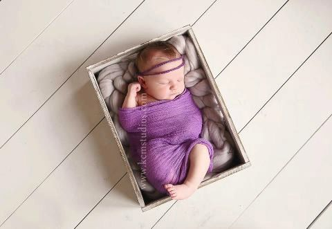 PURPLE Cheesecloth Newborn Photography Prop by SnassyCrafter, $6.00