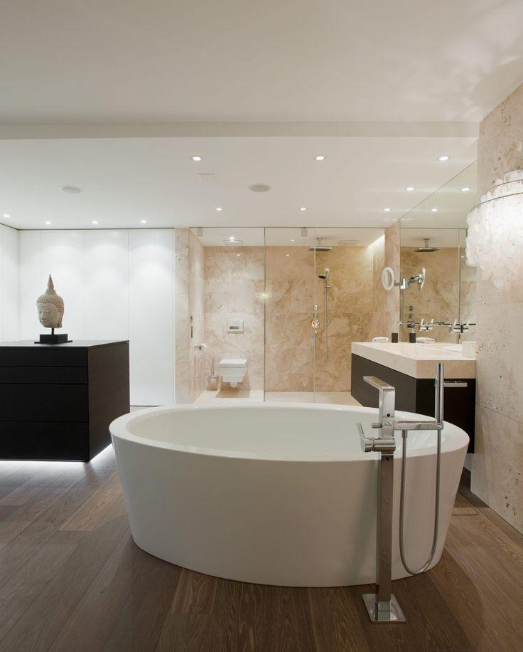 Die besten 25+ Badezimmer aus Travertin Ideen auf Pinterest - naturstein bad