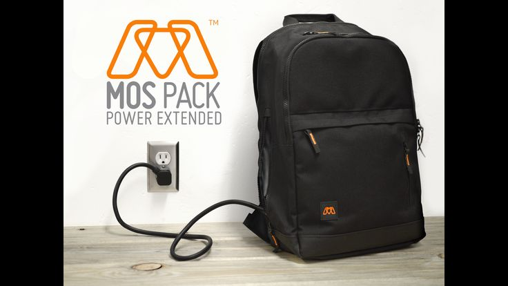 MOS Pack - The Backpack You Plug In To Charge Everything by Greg Petersen — Kickstarter
