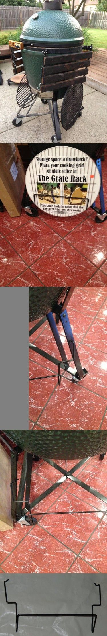 Plate Setter & Grid Holding Rack for Big Green Egg Charcoal Kamado Grills 1102 Extra Large
