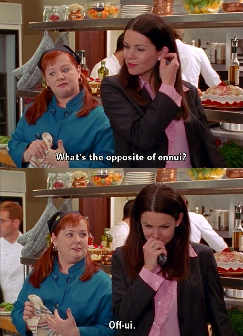 I keep saying Melissa McCarthy was Sookie on the Gilmore Girls...people don't remember it?!  Not really Gilmore Girl's fans then are ya!? lol