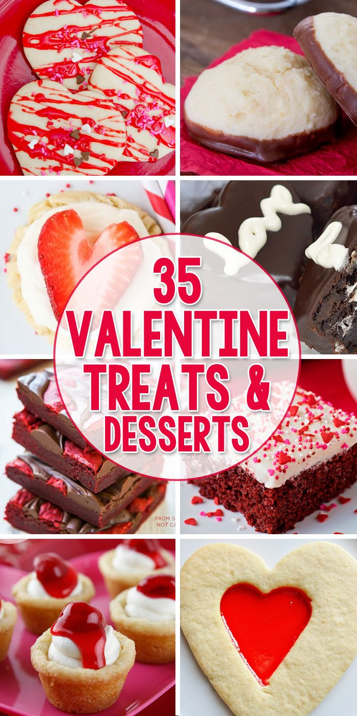 35 Valentine Treats Desserts