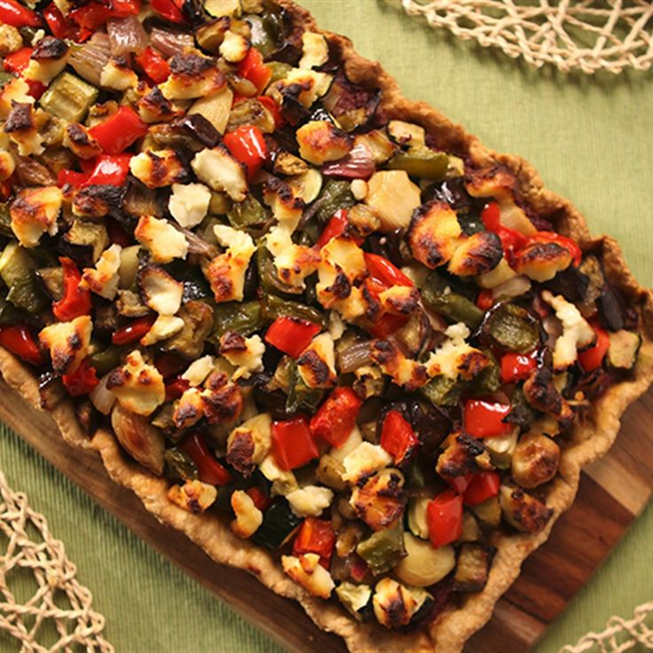 Try this Mediterranean Vegetable Pie recipe by Chef Lyndey Milan . This recipe is from the show Lyndey Milan's Baking Secrets.