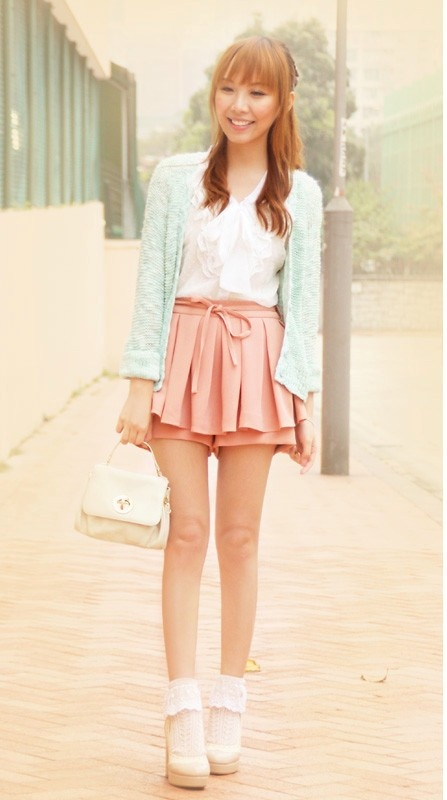 The Blouse Is So Cute And The Colours Are So Girly I Really Love The Skirt It Is Perfect For
