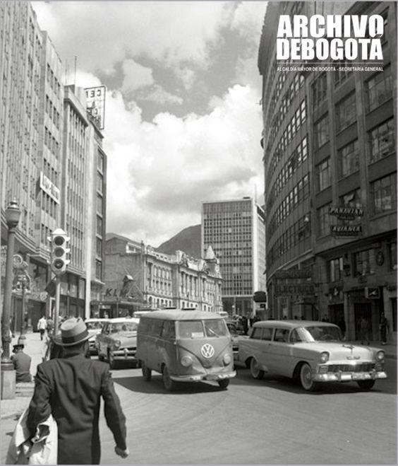 Así era Bogotá hace más de 20 años! - Colombia me gusta - Avenida Jiménez de Quesada - Fuente: www.archivodebogota.gov.co