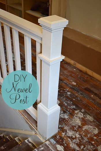 DIY Newel Post Tutorial
