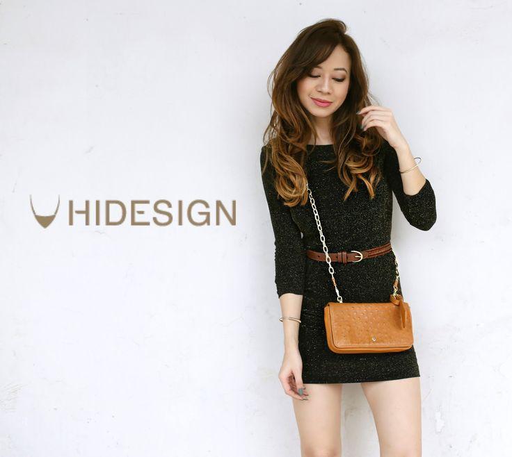 #Hidesign #SlingBag #Brown  #Blogged #Fashion #Style #OOTD #OOTN #Winter #LookBook #Natasha