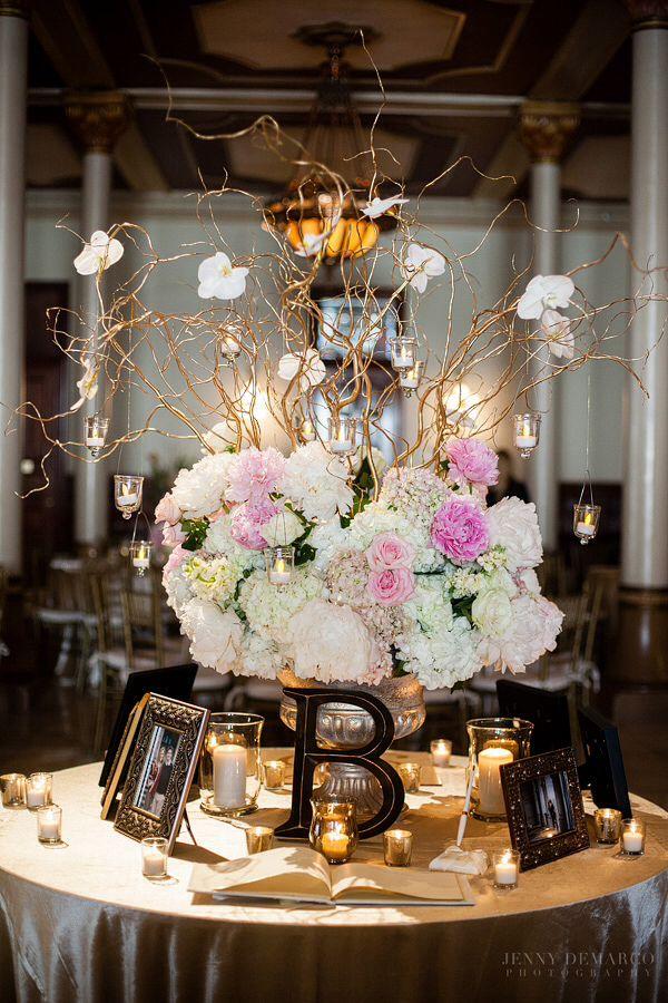 guest book table my wedding flowers wedding decorations wedding rh pinterest com