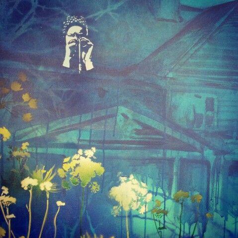 Detail - Greyish Gardens - Alex Hamilton