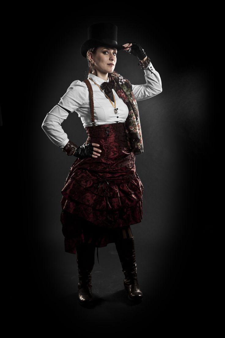 Magdalena Hai by Tommi Turunen Photography (Osuuskumma Steampunk Series)