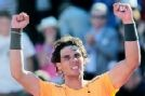 My current favorite tennis player, Rafael Nadal. He is so fierce on the tennis court, yet he is so humble...