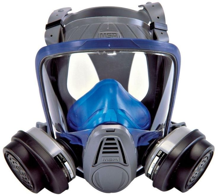 Respirator Full Face Mask Safety Dust Contaminant Chemical