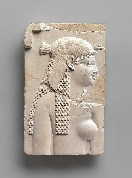 Plaque Depicting a Goddess or Queen, and on Opposite Side a King   Late Period–Ptolemaic Period   The Met