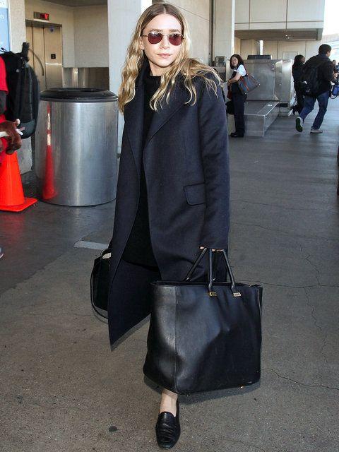 Ashley Olsen | Airport Style