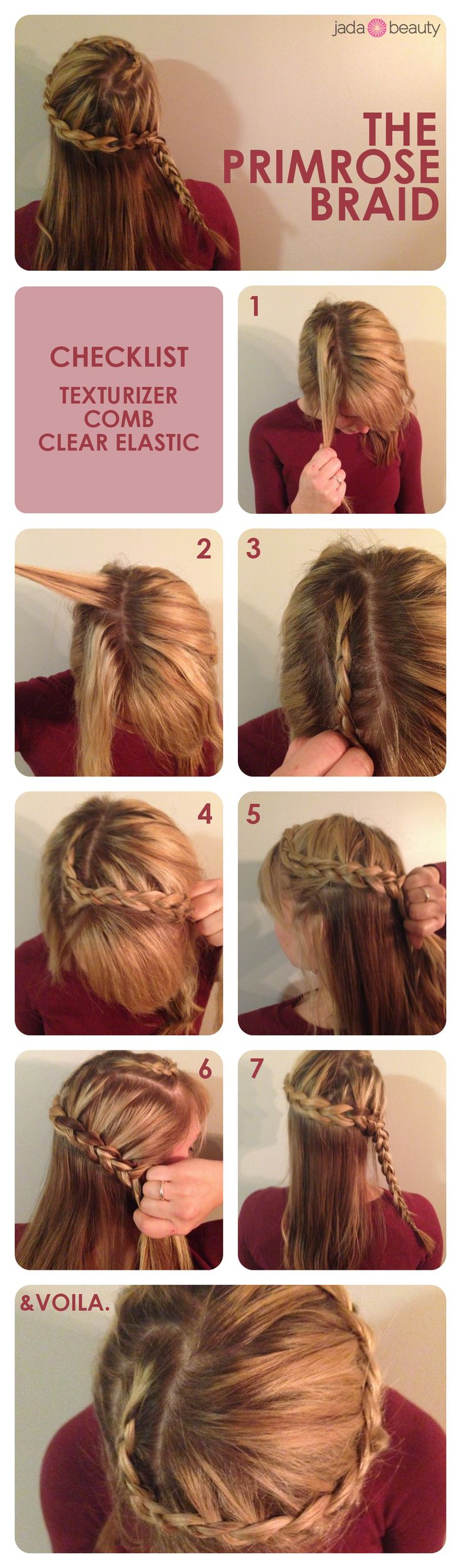 get the primrose braid from hunger games catching fire! easy #hair tutorial - pin now, try later.