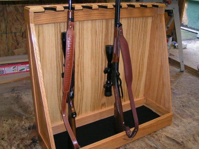 Mountable Gun Rack