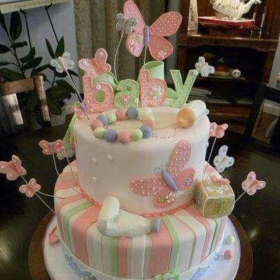 Baby or spring cake
