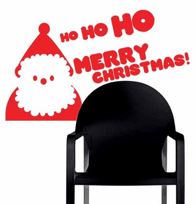 Ho Ho Ho! #MeshDecorativeDecals #Mesh #Decals #Manila #home #holidays #Christmas mesh_dd@yahoo.com