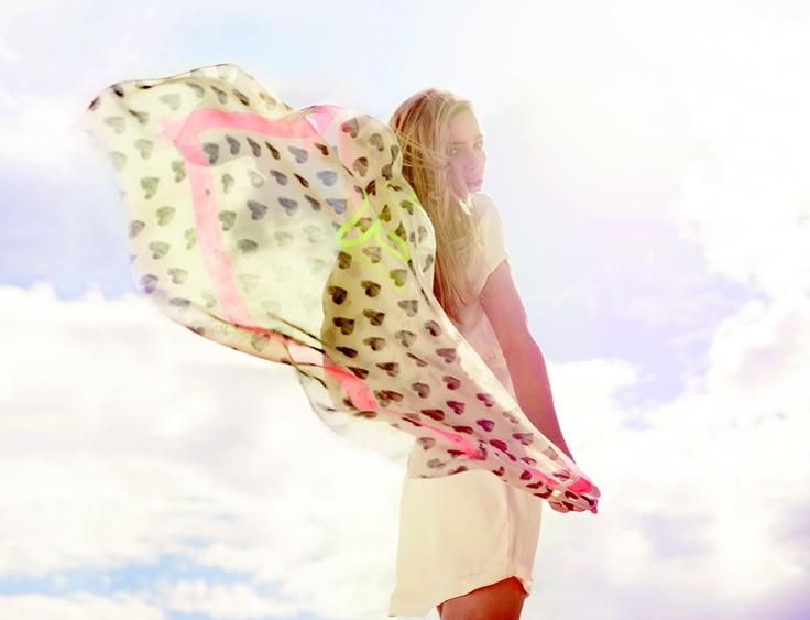 Codello S/S13 scarfs in a myriad colours, prints and fabrics