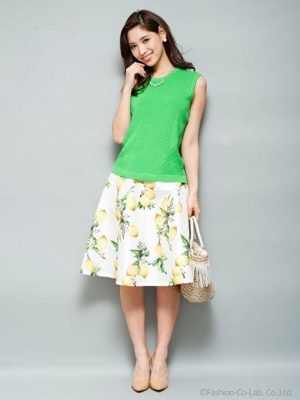 フレッシュレモンスカート(膝丈スカート)|Million Carats(ミリオンカラッツ)|ファッション通販 - ファッションウォーカー
