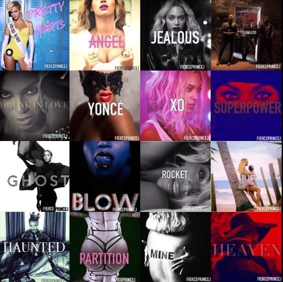 Single covers...all of them #Beyonce | Yonce | Pinterest ...