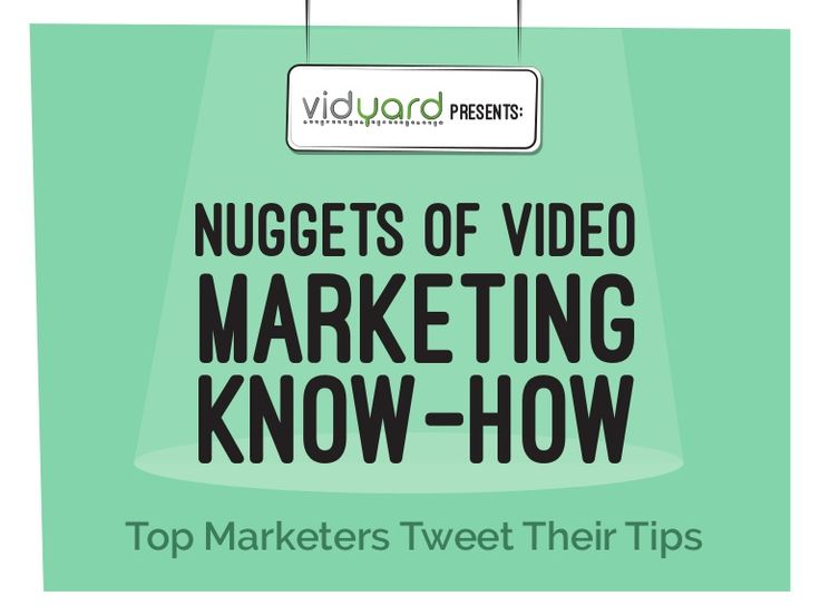 Nuggets of Video Marketing Know-how: Top Marketers Tweet Their Tips