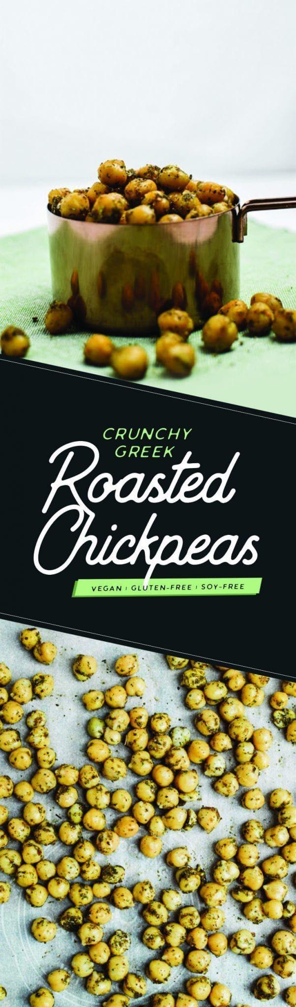 Crunchy Greek Roasted Chickpeas – Plant Based Scotty   – Food