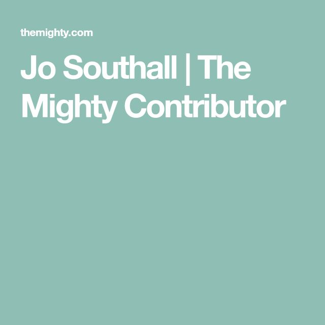 Jo Southall | The Mighty Contributor