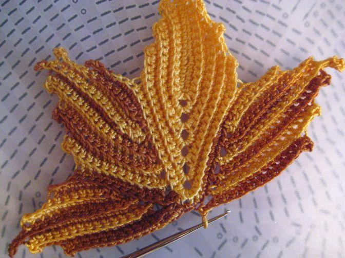 crochet maple leaf tutorial | make handmade, crochet, craft