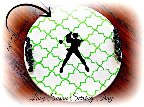 Tennis Gifts, Womens Tennis Gifts, Platter, Tray, Lazy Susan, Serving Tray…