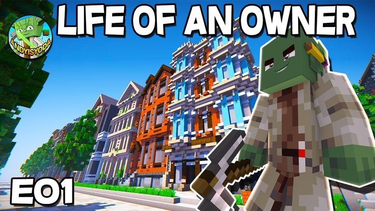 Life of an Owner (creative minecraft) E01- townhouses