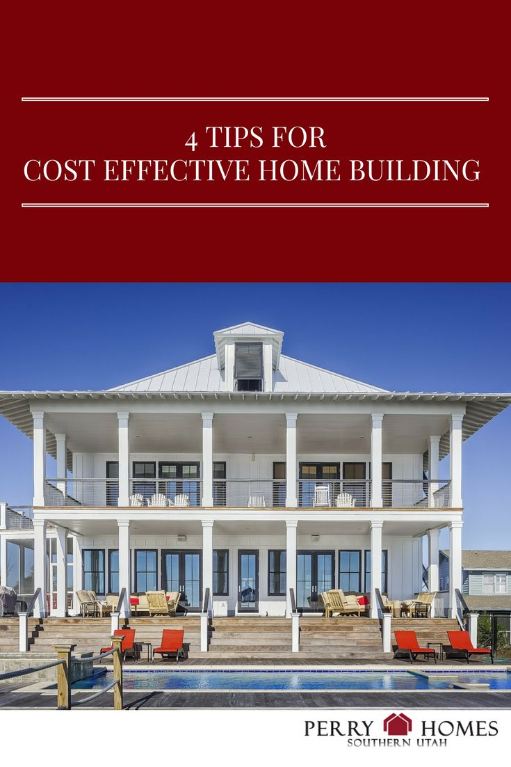 30 best building your home images on pinterest new homes for Cost effective home building