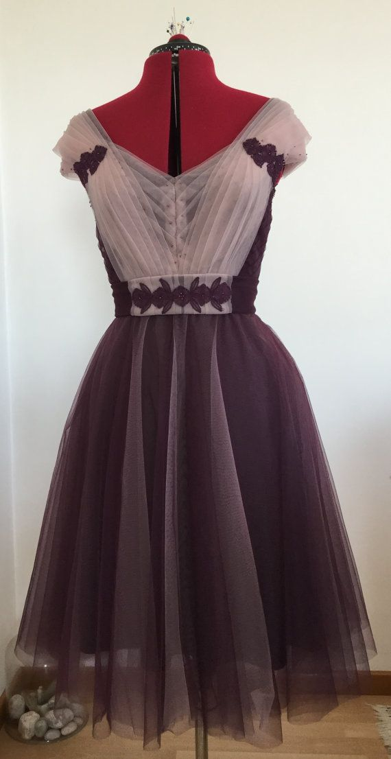 Violet Rose Fairy Tulle and Lace Dress by BlackCherryCouture