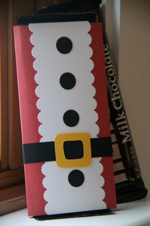 Santa Suit Candy Bar Cover