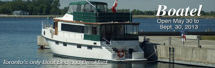 Downtown Toronto Bed and Breakfast, Toronto B, Boat Hotel   Making Waves Boatel