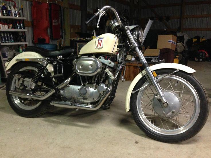 Harley-Davidson : Sportster Harley Davidson 1971 XLCH 900 Sparkling America Edition